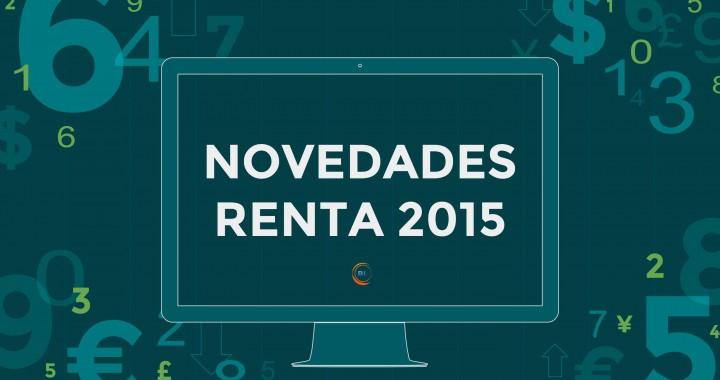 Novedades Renta 2015